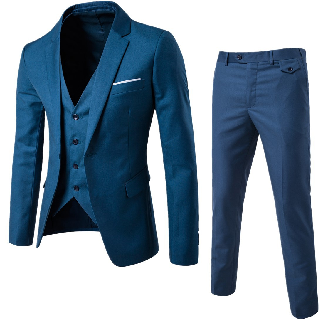 bridegroom-suit-men's-wedding-two-sets--medium